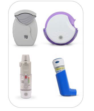 Multiple Types of Inhalers